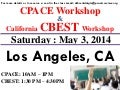 CPACE and CBEST Workshop - LOS ANGELES - Saturday May 3, 2014