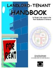 Los Angeles Rent Stabilization Hand...