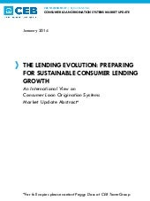 The Lending Evolution - Preparing f...