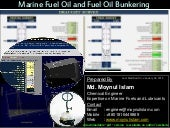Marine Fuel Oil and Fuel Oil Bunker...