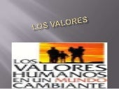 Los valores monse