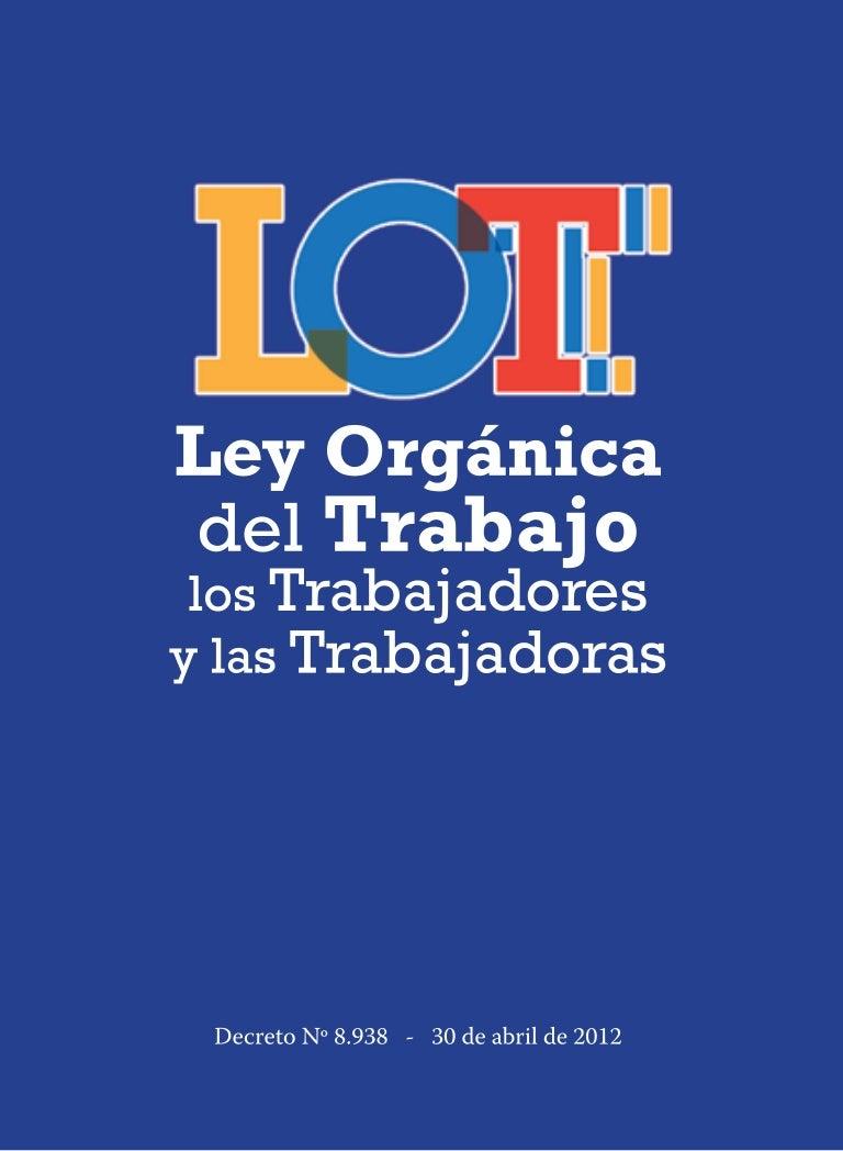 LEY DEL TRABAJO