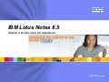 Lotus Notes 8.5 version to version comparison