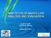 Smith - MN Drainage Law Analysis an...