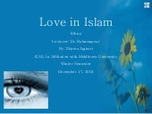 Love In Islam