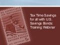Low Risk Tax-Time Savings For All
