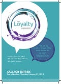 Be the winner of European Loyalty Marketing Awards