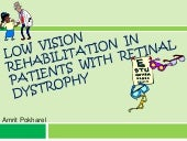 Low vision rehabilitation in patien...