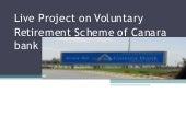 canara bank, voluntary retirement s...