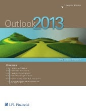LPL Outlook 2013