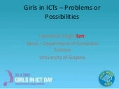 Girls in ICTs – problems and possib...