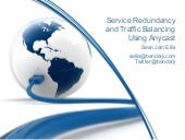 Service Redundancy and Traffic Bala...