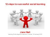 12 steps to successful social learning