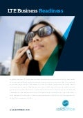 4G Business Readiness: LTE Opportunities and Challenges in Asia |  www.solidiance.com