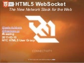 HTML5 WebSocket: The New Network St...