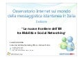 Yes Web Can - Nuove Frontiere dell'IM: Mobilità e Social Networking | Luca Colombo