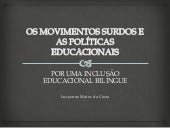 Os movimentos e as políticas educac...