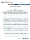 Top Five Resume Writing Tips