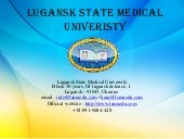 Lugansk state medical univeristy  1