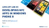 LUMIA APP LABS: DEVELOPING NFC APPS...