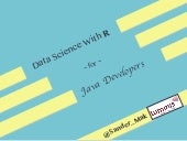 Data Science with R for Java Developers
