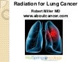 Radiation for Lung Cancer
