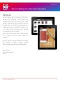 iPad Usability Best Practices Checklist