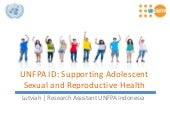 UNFPA ID: Supporting Adolescent Sex...