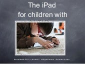 iPads for Children with ASD Slides