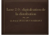 Luxe 2.0 : Digitalisation de la dis...