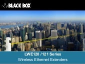 LWE120 Wireless Ethernet Extenders