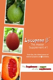 Lycopene - β : The Master Supplemen...
