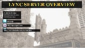 Lync server overview (Inroduction) ...