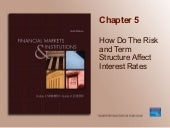 Chapter 05_How Do Risk and Term Structure Affect Interest Rate?