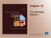 Chapter 12_The Mortgage Markets