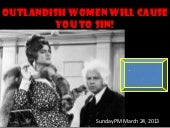 M2013 s23 outlandish woman will cau...