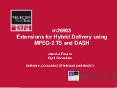 Extensions for Hybrid Delivery usin...