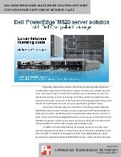 Dell PowerEdge M820 blade storage s...