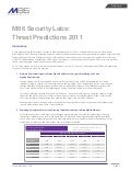M86 security predictions 2011