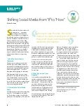 Shifting Social Media From If to How (Credit Union Article)