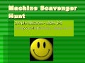 Machine scavenger hunt2