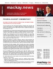 Mackay Budget Night Commentary 2013