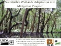 Sustainable Wetlands Adaptation and  Mitigation Program