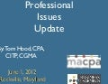 MACPA Town Hall / Professional Issues Update