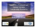 MACPA Professional Issue Update - Leadership Academy
