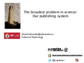 The broadest problem in science: Ou...