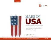 Made In Usa: Why Americans Make Som...