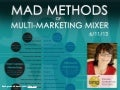 Michelle Chance-Sangthong Guest Speaker for Mad Methods of Multi Marketing Mixer