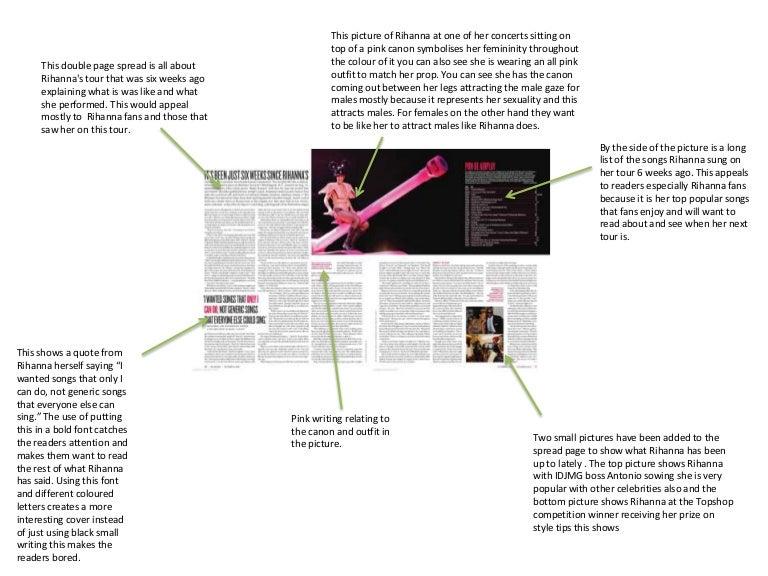 Magazine article analysis