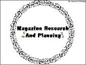 GCSE Magazine Research and Planning